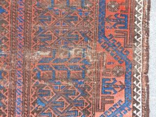 Antique Baluch Rug  size.150x90cm
