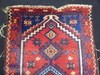 Antique East Anatolian Savak Prayer Rug