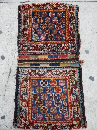 Antique Qashqaii Siraz Sadlebag