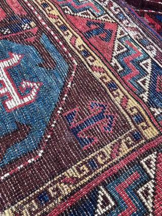 Antique Uzbek Karakalpak Rug