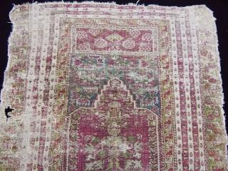Antique West Anatolian Gördes Rug
