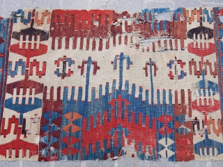 Antique Anatolian Kilim Fragment