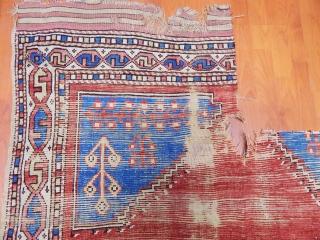 Antique Anatolian Manastır Rug