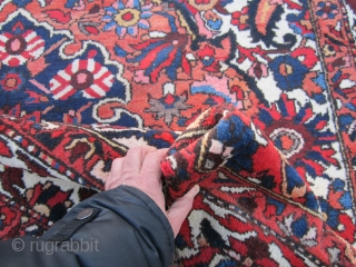 """nice bakhtiari(SOLD SOLD SOLD) rug great old design 6' 10"""" x 10' original good condition be happy to answer any questions very reasonable price."""