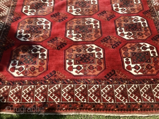 Great condition Afghan Ersari rug. 330 x 220. No issues...floor ready! Please ask for more photos and info.