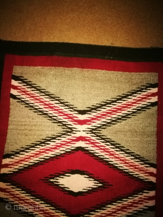 Antique Navajo rug. Condition is excellent. Size is. 2/4 feet