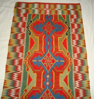Antique Swedish Wall Tapestry Rölakan| Kelim.