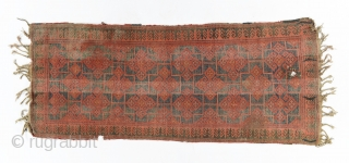 Kyrgyz giliam (main carpet), Central Asia, Ferghana valley, late 19th century, 320 x 140cm