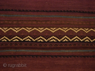 Baluch Kelim. Late 19th Century. Amazing condition.