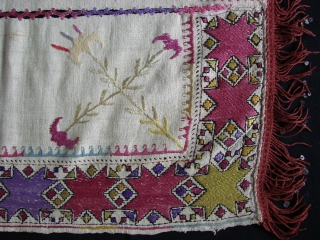 Turkish embroidery. Early 20th.