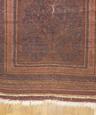 A Taimani Baluch with great presence and age. Ask for more details.   Please visit our website for more rare woven art: www.bbolour.com
