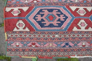 SHAHSAVAN sumak, Wool on Wool Very good condition Size: 94x73cm