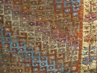 Central Anatolian Yatak with zig-zag tessellated field