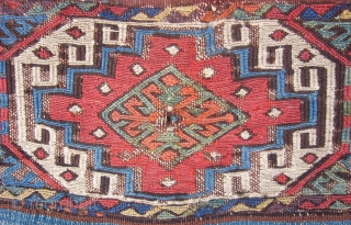 Malatya chuval with wonderful colours.. 90 x 52cm. 19th c.