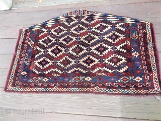SELLING 4 OLD WEAVINGS IN SUPERB CONDITION AT REASONABLE PRICES - NO REPILING OR REPAIRS AND ALL WITH 100% NATURAL DYES - TEKKE 6 GUL IN THE BEST FULL PILE - KERMAN  ...