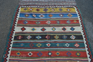 Qashqa'i kilim -19th century - in very good condition.