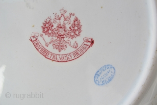 KUZNETSOV IKAT PLATE - D = 24 cms