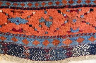 East Anatolian Gaziantep (Aintab) rug. Late 19th c. 115 x 205 cm.
