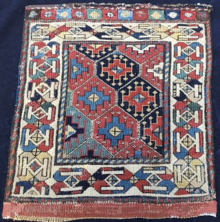U might like this Shahsavan Sumack bag face. Cm 54x58. 1880sh. The rich and proud weaver could afford to buy little, expensive fuchsine, while for the others went on as usual......with natural  ...