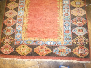 Anatolian Karapinar perfect conditions full pile cm.130x275 cm.