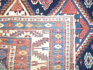 Caucasian Shirwan Kuba  XIX th Century good conditions  cm100x135cm
