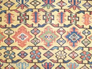 Caucasian Shirwan Zeiqur XIX th.Century  cm118x270cm rare good conditions