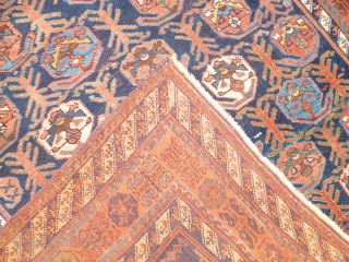 Persian Afshari XIX th.Century perfect conditions cm 123x155cm
