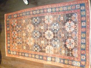 Caucasian Genje XIX th.Century cm.146x250.Hold restoration