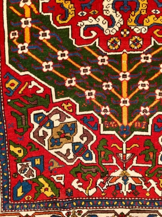 Caucasian Prayer Rug, late 18TH century, Coming up at Chrisitie's London, 26 October 2017  Silk foundation, a few repairs at either end, selvages rebound 5ft.1in. x 3ft.4in. (155cm. x 100cm.) http://www.christies.com/lotfinder/rugs-carpets/a-caucasian-prayer-rug-late-18th-century-6099539-details.aspx?from=salesummery&intObjectID=6099539&sid=772440d8-3e60-4458-aa30-3e9ae82e361b  To see the complete catalog  ...