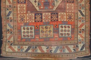 Karachof Kazak Size is 226 x 172 cm
