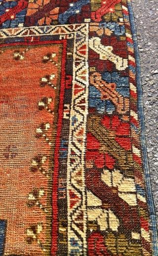 Turkish prayer rug ( konya )  38 inches by 65 inches