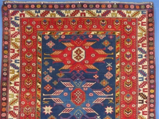 Caucasian Rug, Azerbaijani Lenkoran, c. 1900+/-,