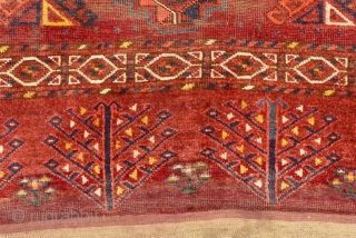 Antique Turkmen Mafrash or Storage Bag.