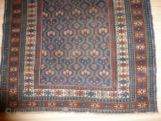 Antique Baluch 100x130cm, in good condition, beautifully drawing, slightly damaged (see pictures)