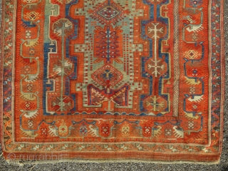 Antique Melas Milas anatolian carpet