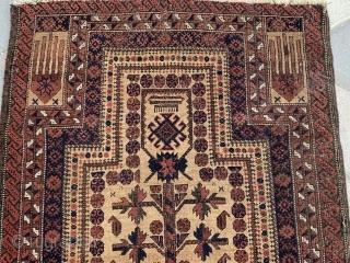 Baluch carpet rug size 142x76 cm