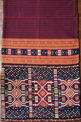 Timor Ceremonial Tubeskirt (Tais Mabuna)