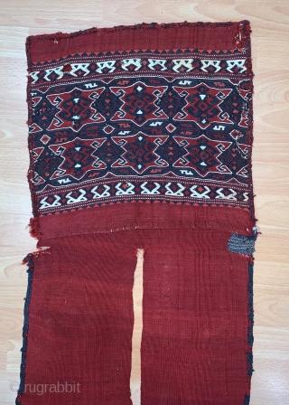 West Anatolian Yüncü Heybe Size 44x131 / 1'4''x 4'3''