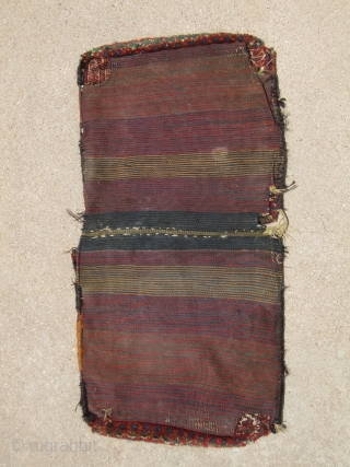 Complete Baktiari Saddlebag...19th Century...all veg dyes...more info and photos available