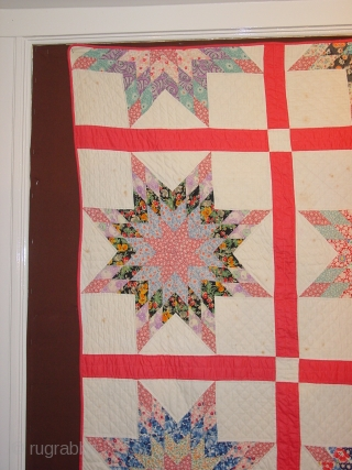 wonderful!!! fine quilt, so beautiful. It has no tears, no holes, it has some faint fingertipsicxze spots, might go out with a wash, I bought like this. Amazing beauty with delightfull stars  ...