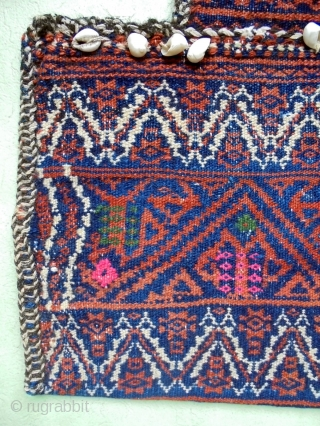 Tribal Soumakh Namakan Baluch Saltbag