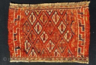Khorasan Ghouchan facebag1880 circa,size50x33cm