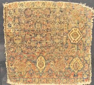Senneh wagireh 1880 circa,size 40x40cm