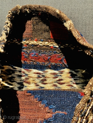 very beautiful Baluch bag 1880 circa,no repairs and all good colors,size 42x42