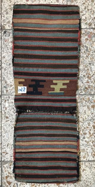 Shahsavan saddlebag,Size:79x29 cm