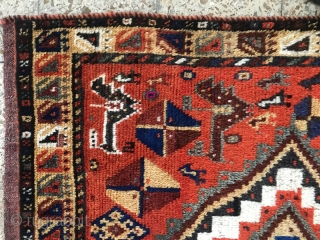Sw persia woolen gabbeh from khamseh tribes,Size:230x130 cm,Cames in after hand wash