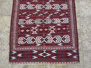 Turkmen Yamut kilim in perfect condition,Size:234x117 cm