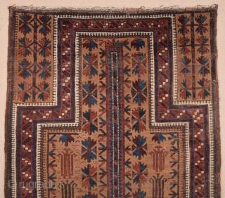 Baluch Prayer Rug circa 1880 size 97x160 cm
