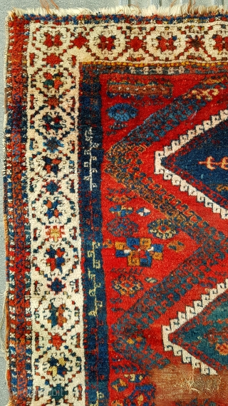 Size : 125 x 160 (cm), East anatolia, Antep region !   Ca 1830