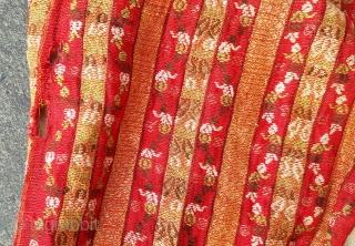 West anatolia , Bursa region ! Ottoman textile .